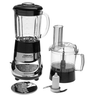 BFP-703CH SmartPower Duet Blender/Food Processor, Chrome - Factory Refurbished