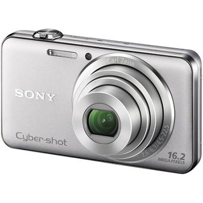 DSC-WX50 - 16.2MP CMOS Sensor Digital Camera 5X Optical Zoom 2.7` LCD (Silver)