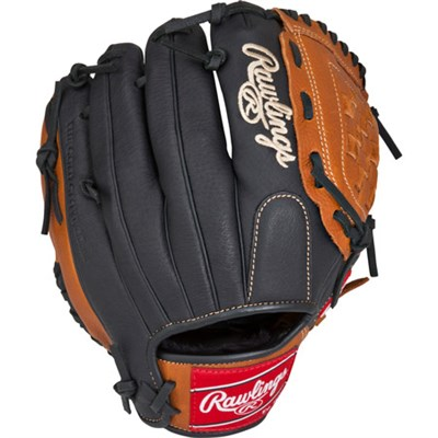 P1075JR Prodigy Baseball Glove Pro Taper 10.75 in Right Hand Throw, Brown 10.75`