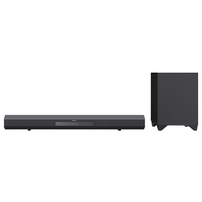 HTCT260 Surround Sound Speaker Bar and Wireless Subwoofer with Bluetooth
