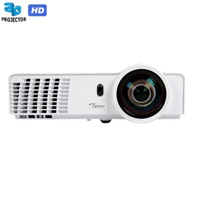 Full 3D 720p 3200 Lumen Short Throw DLP Gaming Projector - Refurbished