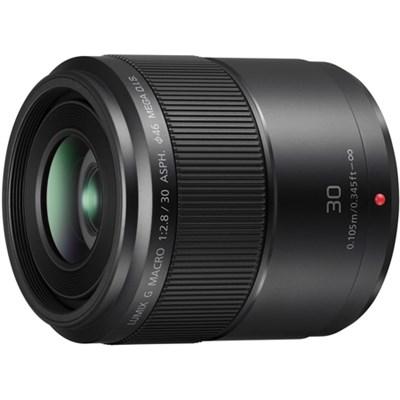 LUMIX G MACRO 30mm F2.8 ASPH. Lens w/MEGA O.I.S. - OPEN BOX