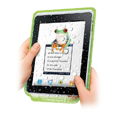 LillyPad 3-Pack Reusable Protective Cover for iPad with Sound Enhancement