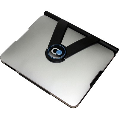 Discovery Rotating Professional Ipad Case- Silver