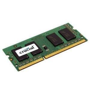 Memory - 4 GB - SO DIMM 204-pin - DDR3 - 1333 MHz / PC3-10600 - CL9 - 1.5 V