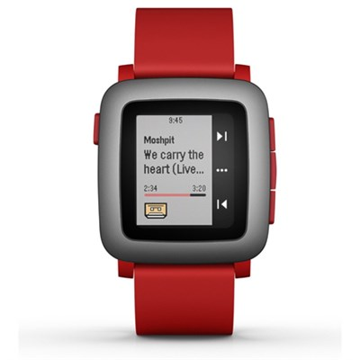 Time Smart Watch for iPhone and Android Devices - Red (501-00022)