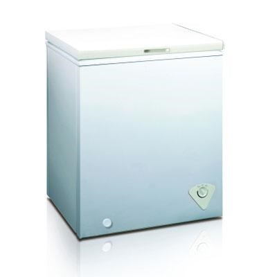 5 Cubic Feet Single Door Chest Freezer in White - WHS-185C1