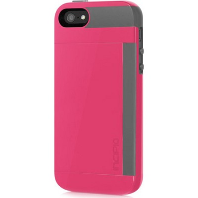 Stowaway Case for iPhone 5 - Cherry Blossom Pink/Charcoal Gray