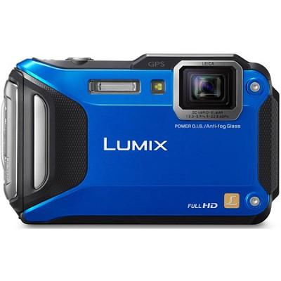 LUMIX DMC-TS6 WiFi Enabled Tough Adventure Blue Digital Camera