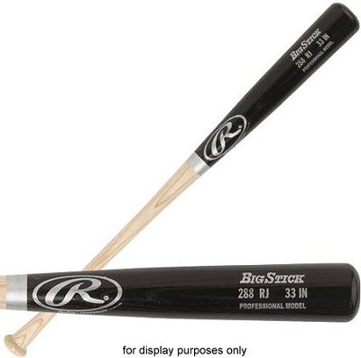 288RJ Big Stick Pro Black Wood Bat 33in