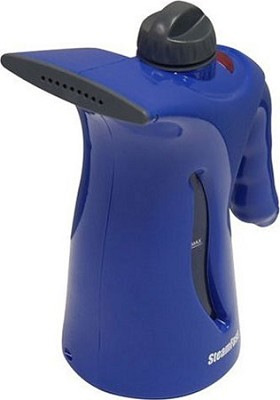 Compact Fabric Steamer-Blue
