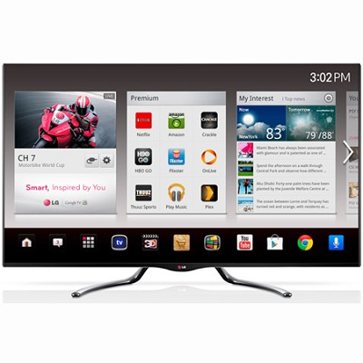 55GA7900 - 55 Inch 1080p 3D Google TV 240Hz Dual Core Cinema Design Edge LED