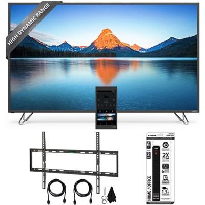 M80-D3 - 80-Inch 4K SmartCast M-Series Ultra HD HDR LED TV w/ Wall Mount Bundle