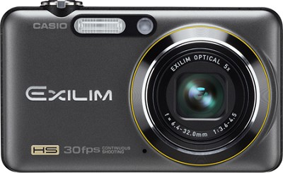 Exilim FC100 9MP 2.7` LCD Digital Camera (Black)