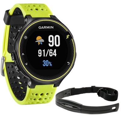 Forerunner 230 GPS Running Watch + Heart Rate Monitor - Force Yellow
