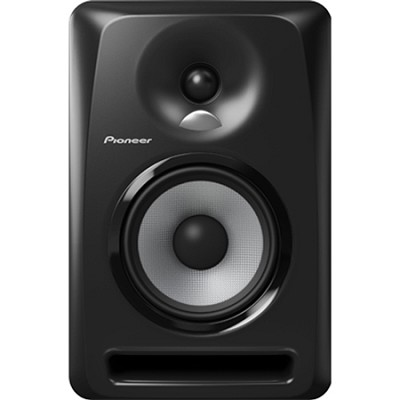 Black Pioneer S-DJ50X 5` Active DJ Speaker Reference Monitor