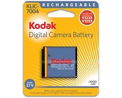 KLIC-7004 950mAh Lithium Battery for V1233 and V1253