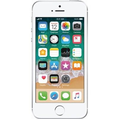 iPhone SE, Silver, 16GB, Unlocked Carrier - Refurbished - IPHSESL16U