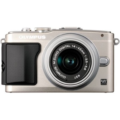 E-PL5 Silver PEN Camera w/ 14-42mm Lens
