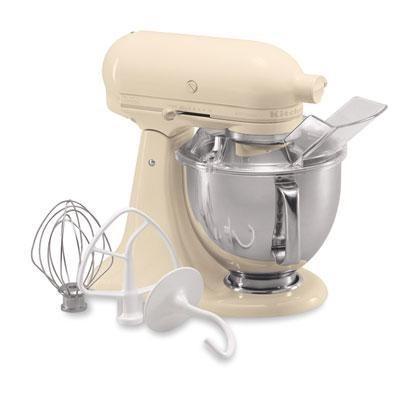Artisan Series 5-Quart Tilt-Head Stand Mixer in Almond Cream - KSM150PSAC