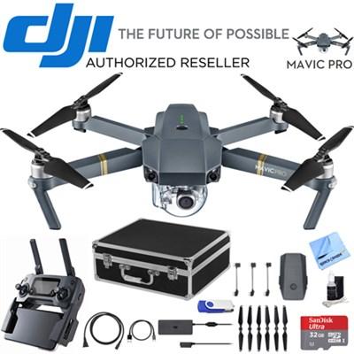 Mavic Pro Quadcopter Drone with 4K Camera & Wi-Fi w/ Ultimate 2nd Battery Bundle