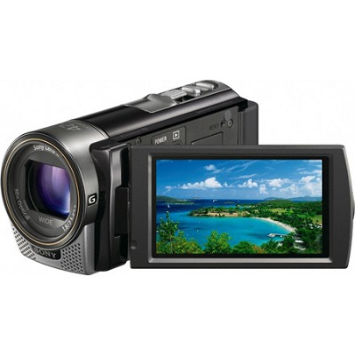 HDR-CX130 Handycam Full HD Black Camcorder w/ 30x Optical Zoom