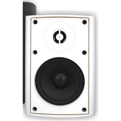110W 4` Outdoor Patio Speaker in White - AP450WHT
