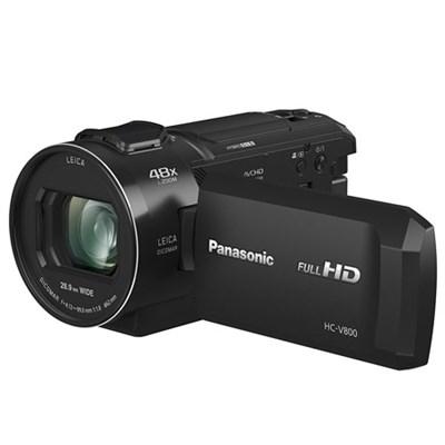 Full HD Camcorder with 24x LEICA DICOMAR Lens 1/2.5` BSI Sensor (Black) HC-V800