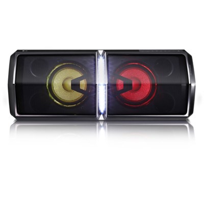600W Loudr Speaker System w/ Bluetooth, Dance Lighting and Effects Creator FH6