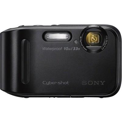 Cyber-shot DSC-TF1 16 MP Water Shock and Freezeproof Digital Camera - Black
