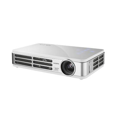 Qumi Q2-LITE B 300 Lumen WXGA HDMI 3D-Ready HD 720p Pocket DLP Projector (White)