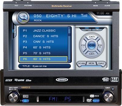VM9512 DVD Multimedia Receiver