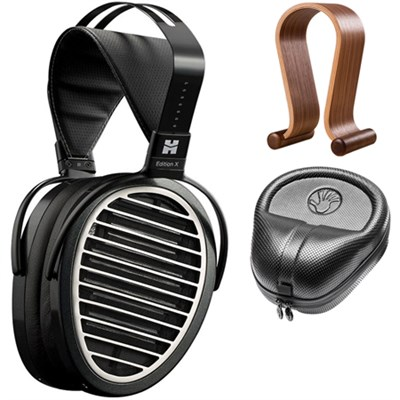 Edition X V2 Over-Ear Open Back Planar Magnetic Headphones w/ Stand and Case Kit
