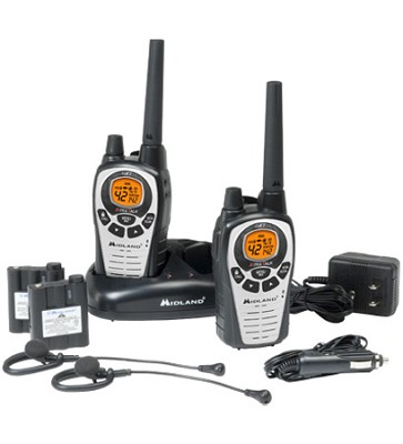 36-Mile 42-Channel FRS/GMRS Two-Way Radio (Pair)