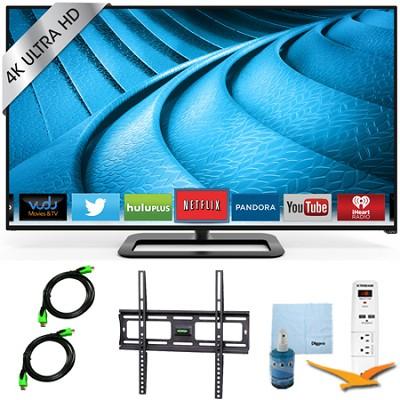P702ui-B3 - 70` 4K Ultra HD 240Hz Smart LED Smart TV Plus Mount & Hook-Up Bundle