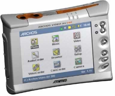 AV340 40GB Video/MP3 Player/Recorder