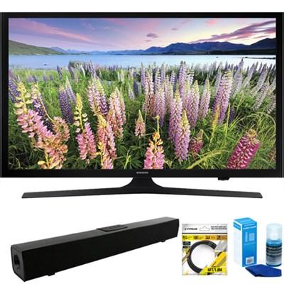 UN50J5200 50` Full HD 1080p Smart LED HDTV + Bluetooth Sound Bar Bundle