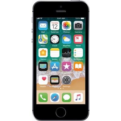 iPhone SE, Space Grey, 128GB, Unlocked Carrier - Refurbished - IPHSESG128U