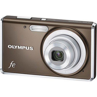FE-4020 14MP 2.7` LCD Digital Camera (Gray)