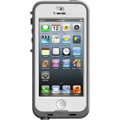 iPhone 5 Nuud Case - White