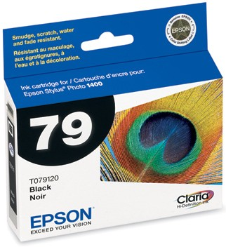 Claria Hi-Definition Ink Cartridge (Black) for Epson Stylus 1400