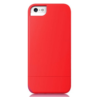 Protective Slider Case for iPhone 5 Red