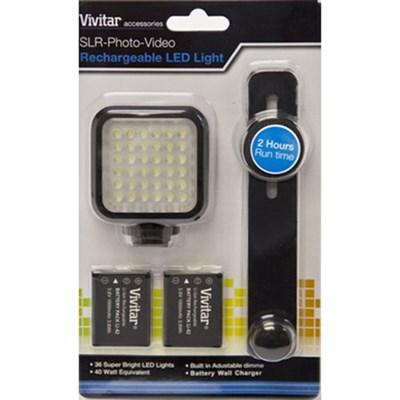 SLR Photo and Video Rechargeable LED Light - VIV-VL-400