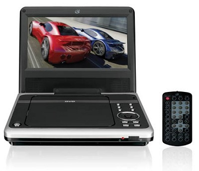8 inch GPX PD808B Widescreen Portable DVD Player (Black)