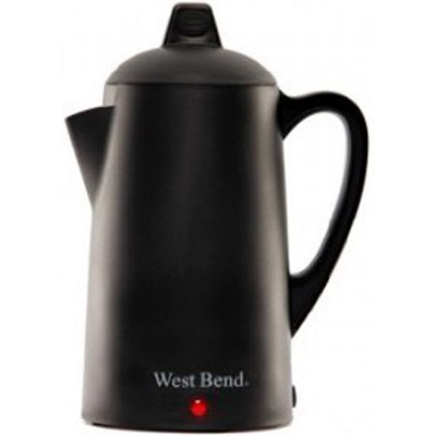 9 Cup Percolator, Matte Black - 54009 - OPEN BOX