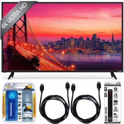 E43u-D2 - 43` SmartCast 4K Ultra HD LED Smart TV Home Theater Accessory Bundle