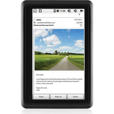 4.3` Touch Screen Android 2.2 Twig 4GB Tablet, Dual Core Processor (Black)