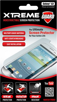 Indestructible Impact Proof Screen Protector for Samsung Galaxy S3