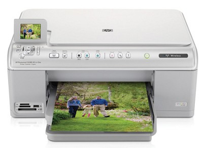 Photosmart C6380 All In One Wireless Printer - OPEN BOX
