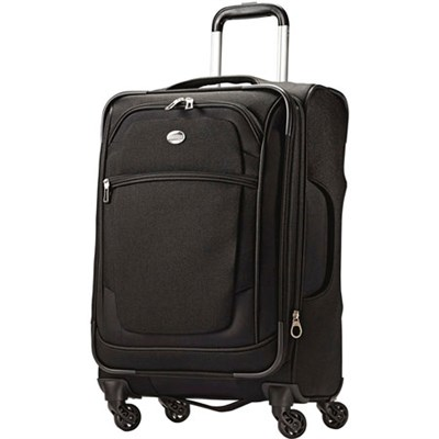21` Carry On DeLite 2.0 Luggage Spinner Black